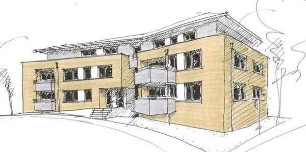 MFH Neubau mit 10 Wohnungen